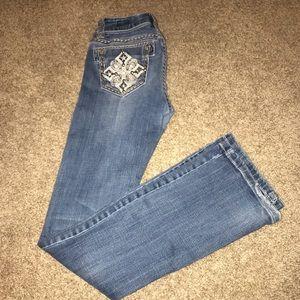 Light Blue LA idol jeans